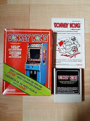 Atari 2600 Donkey Kong CIB (video games)