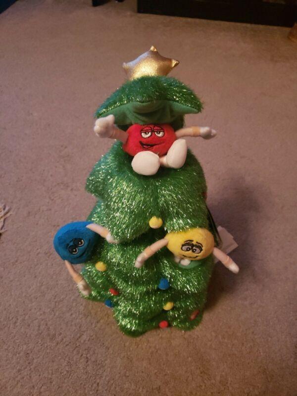 M&M  2010 Musical Animation Christmas Tree  Rockin Around The Christmas Tree NEW