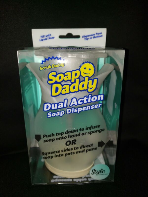 Soap Daddy Dual Action Soap Dispenser Flower New Sealed w/Shipping Box On-Hand