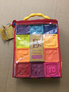 Plastic blocks - brand  new - for  infant
