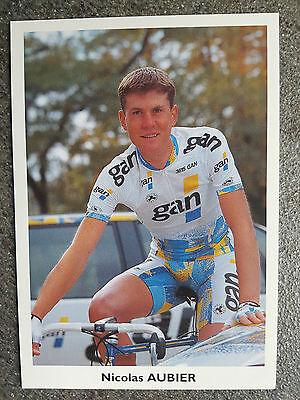 AK o.Orig.AG Nicolas Aubier Team GAN 1995 Rarität!
