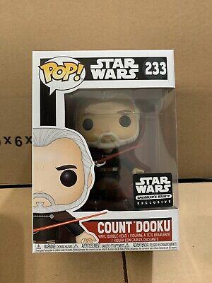Funko Pop! Count Dooku 253 Star Wars Smugglers Bounty Exclusive IN STOCK