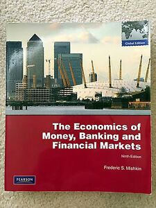 The economics of money, banking and financial markets Caulfield Glen Eira Area Preview