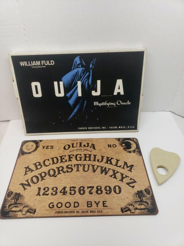 Vintage William Fuld Ouija Board Parker Brothers