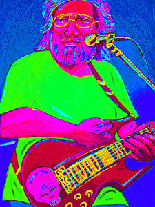 JERRY-GARCIA-PRINT-poster-grateful-dead-set-from-the-vault-cd-american-beauty