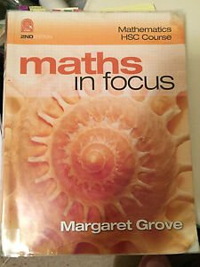 Year 12 HSC Maths In Focus with CD-ROM Lane Cove North Lane Cove Area Preview