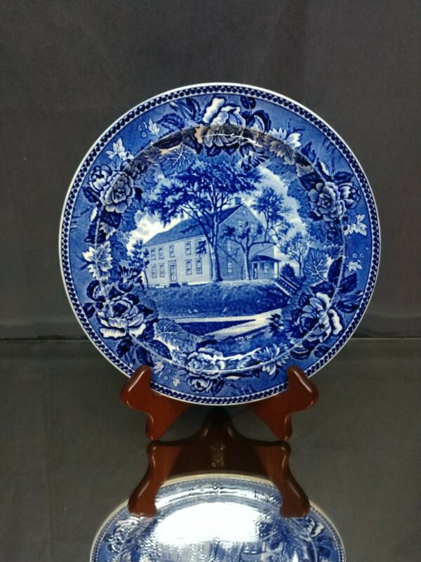 NEAR MINT! Wedgwood Campus Martius Rare Daughters American Revolution Plate DAR