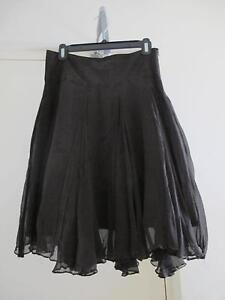 Zara Basic black silk skirt Perth Perth City Area Preview
