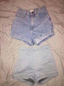 Short du Urban Outfitters et American Apparel