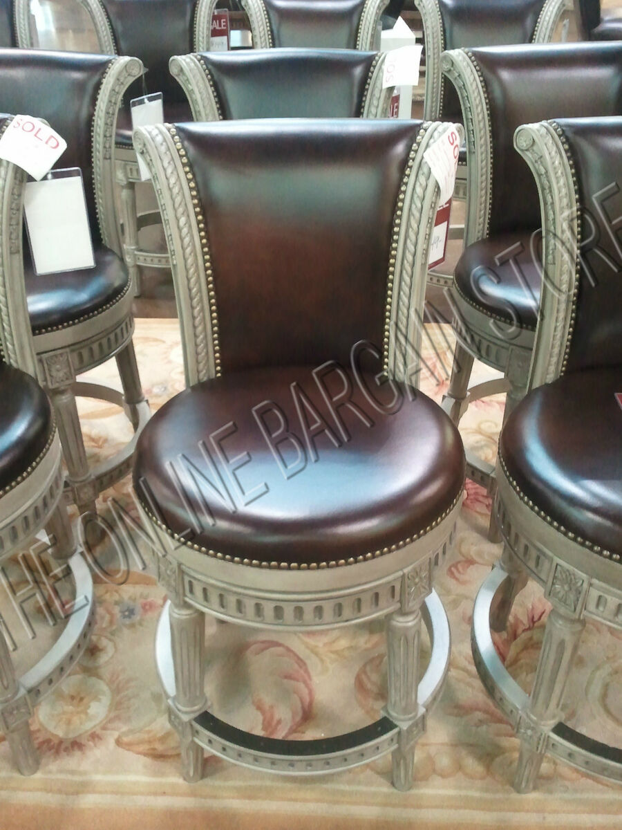 Surprising Frontgate Manchester Counter Bar Height Leather Barstools Pdpeps Interior Chair Design Pdpepsorg