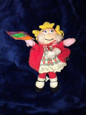 Dr. Seuss Cindy Lou Who Plush Stuffed 7