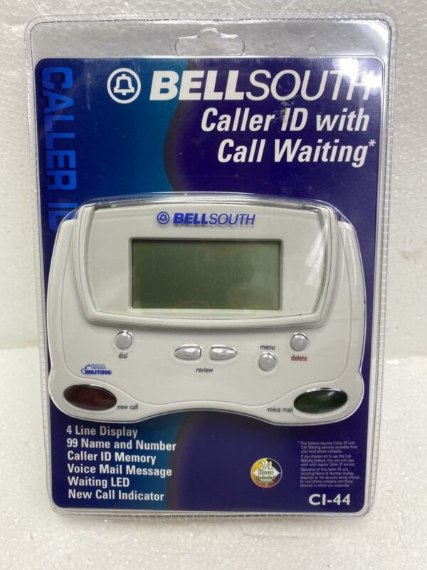 BellSouth Caller ID with Call Waiting Model CI-44 New.