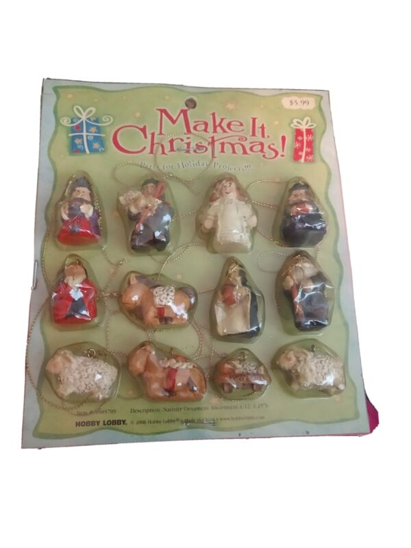 Nativity Set 2006 in package