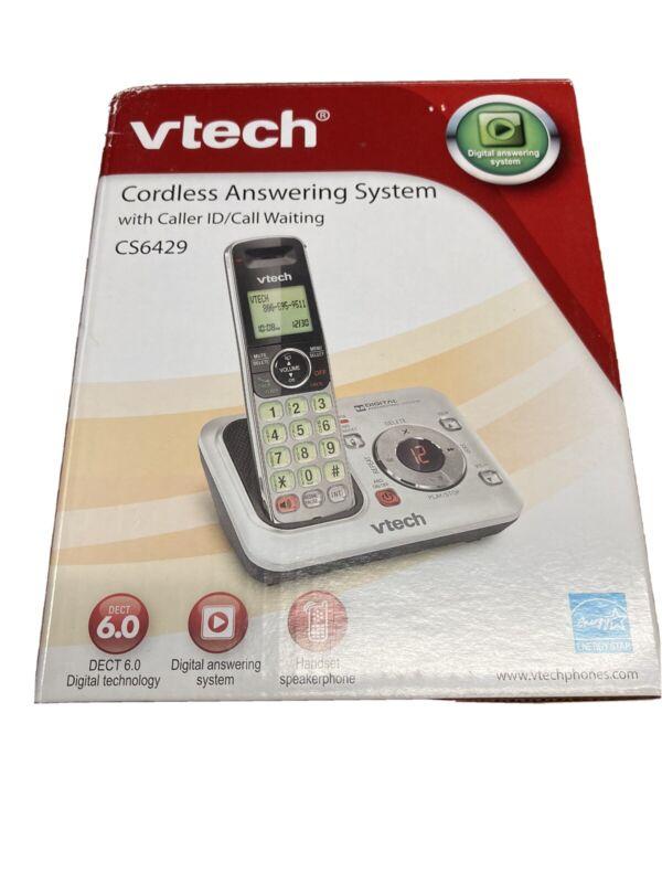 VTech VTCS6429 Single Line Cordless Phone & Answering Machine NEW SEALED