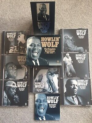 HOWLIN' WOLF the complete recordings 1951-1969 7 CDs + BOOKLET Cat.~CD RED BOX 7