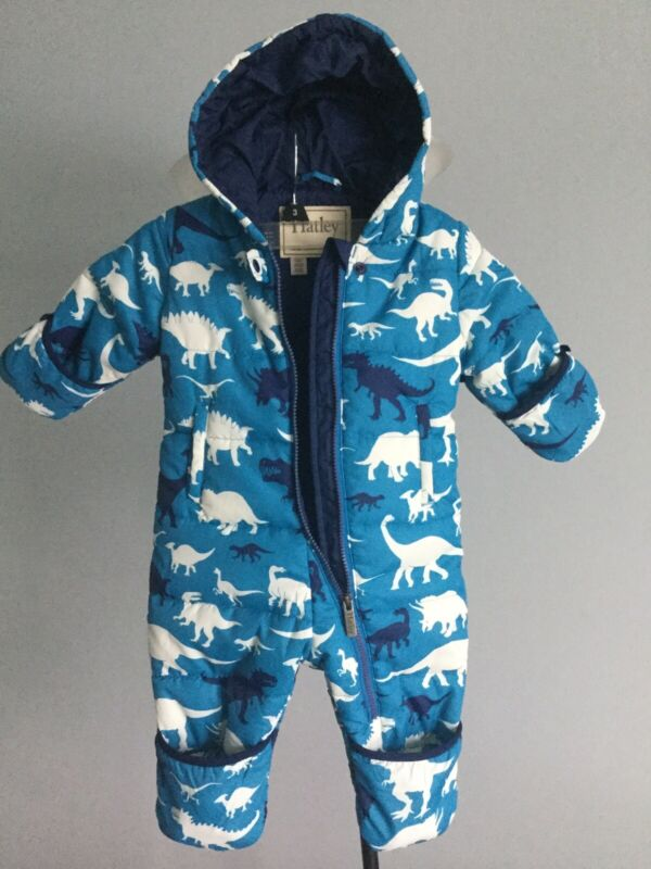 Hatley Winter Baby Bundler One Piece Snowsuit Size 12-18, NWOT