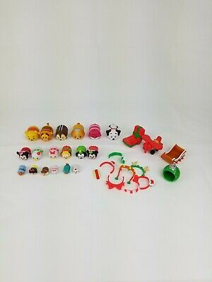 30 Piece Lot Disney Tsum Tsum Christmas Advent Calendar Pooh Figures Replace
