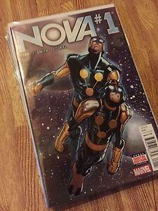 Nova issues #1-9