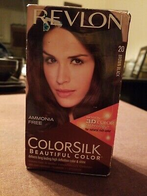 Revlon Colorsilk Beautiful Permanent Hair Color 20 Brown