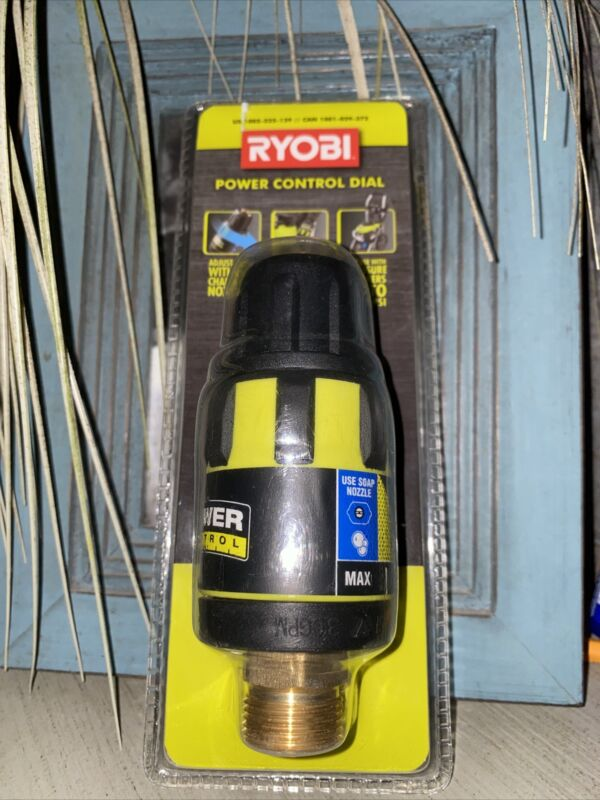 New Seal Ryobi Pressure Washer Power Control Dial 3300 Max PSI  US 1002-225-129