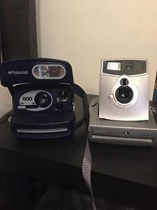 2 x Polaroid Cameras Denham Court Campbelltown Area Preview
