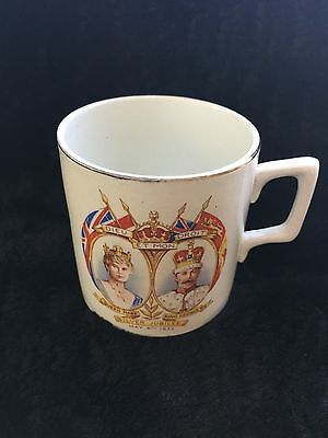 Vintage Queen Mary and King George Silver Jubilee Cup 1935 Cup