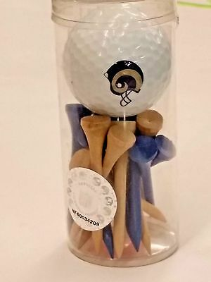 NFL Golf Ball & Tees Set, St. Louis Rams, New