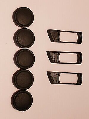 Zeiss Axioskop Dic Slider And Objective Nosepiece Dust Plugs Set Of 8