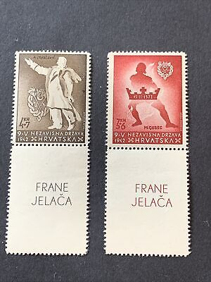 Croatia Stamps Mh Lot