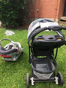Car seat and stroller carrier