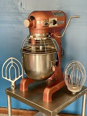 Hobart A200t 20 Quart Qt Bakery Dough Restaurant Food Mixer W Stand On Casters