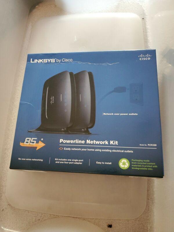 Cisco-Linksys PLTK300 PowerLine Network Kit Network Adapter