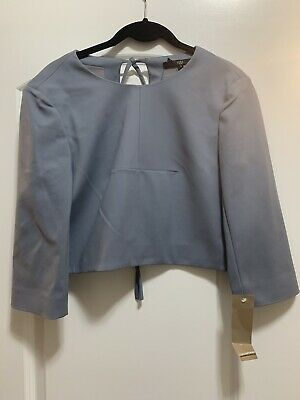 NEW Tibi Long Sleeve Contemporary Shirt Size 4