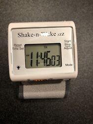 Tech Tools Shake-n-Wake Silent Vibrating Alarm Wrist Watch PI-107
