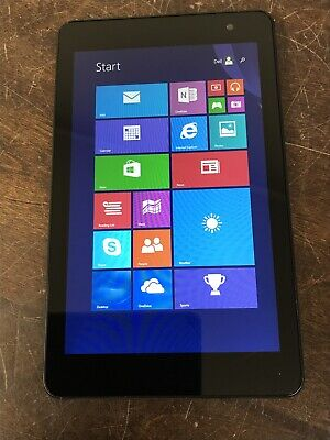 "Dell Venue 8 Pro 3845 32GB WiFi 8"" Black Windows 8 Tablet - Used Condition CV948"