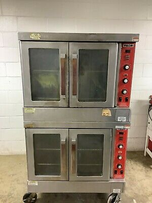 Convection Gas Ovens Double Stack Vulcan Sg4d Tested