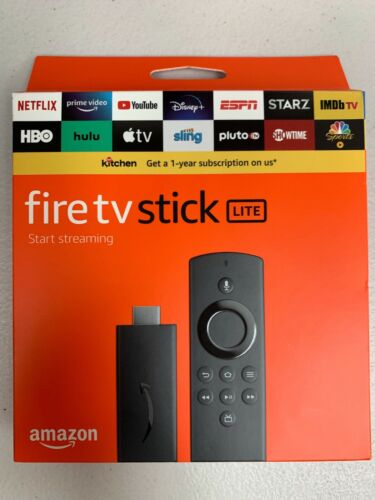 NEW Amazon Fire TV Stick Lite with Alexa Voice Remote - Latest Version 2020