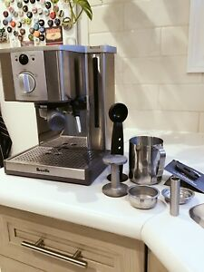 Breville Espresso Coffee Maker with full set of accessories