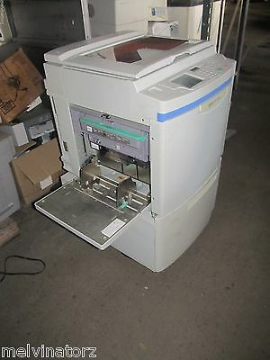 Riso Risograph Rp3700 Rp 3700 Digital Duplicator 11x17 Drum For Partsrepair
