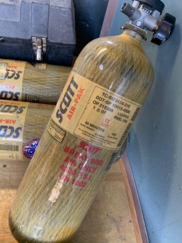 Scott 4500 PSI 60 Minute Carbon Fiber SCBA 60min Bottle Cylinder 60 min 4500psi