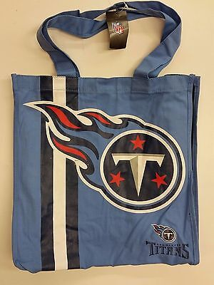 Nfl Tennessee Titans Reusable Canvas Shopping Tote  New