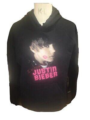 Justin Bieber Kissed Hoodie Size Medium