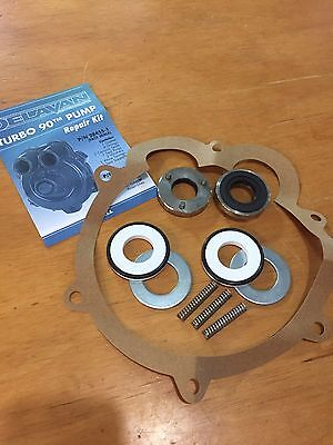 New Delavan Pump Repair Kit 28455-1 Turbo 90 T-90 Face Seal Replacement Parts