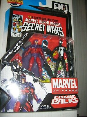 Black Spider Magneto MARVEL LEGENDS UNIVERSE ACTION FIGURES Secret Wars 8 2 pack