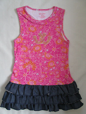 WRANGLER COWGIRL LITTLE GIRLS KIDS DRESS PINK NEW SIZE 4T - Little Girl Cowgirl Dresses