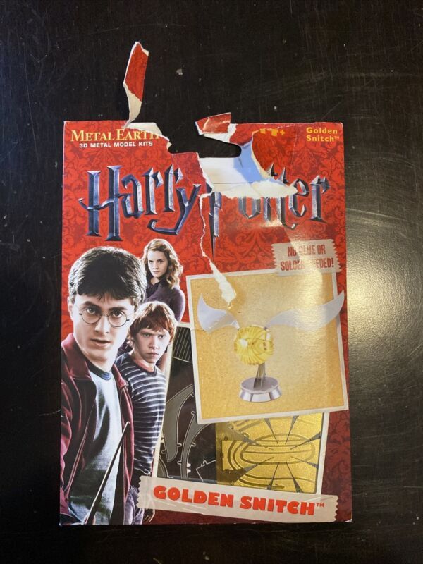 Fascinations Metal Earth 3D Model Kit - Harry Potter GOLDEN SNITCH