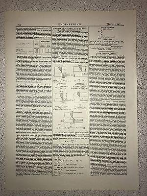 State Of Film On Glass Etc.: 1912 Engineering Magazine Print