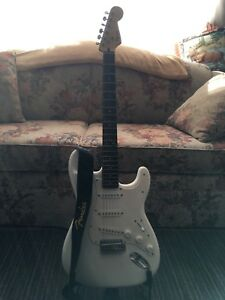 Fender Squire Bullet Stratocaster & Boss DS-1 Distortion Pedal