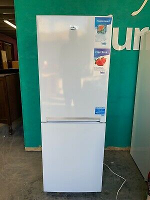 White Beko Freestanding Frost Free Combi Fridge Freezer CRFG1552