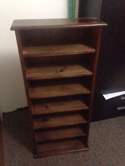 Wooden shelving unit Lilyfield Leichhardt Area Preview